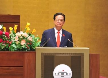Thủ tướng trả lời chất vấn về kinh tế thị trường và Biển Đông