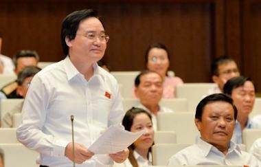 """Chính phủ """"xin"""" Quốc hội lùi thời gian triển khai chương trình phổ thông mới"""