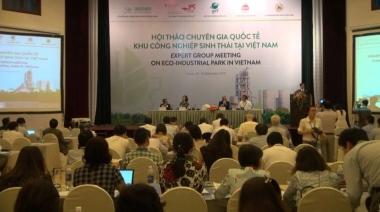 Sắp diễn ra Hội thảo chuyên gia quốc tế lần thứ hai về phát triển KCN sinh thái tại Việt Nam