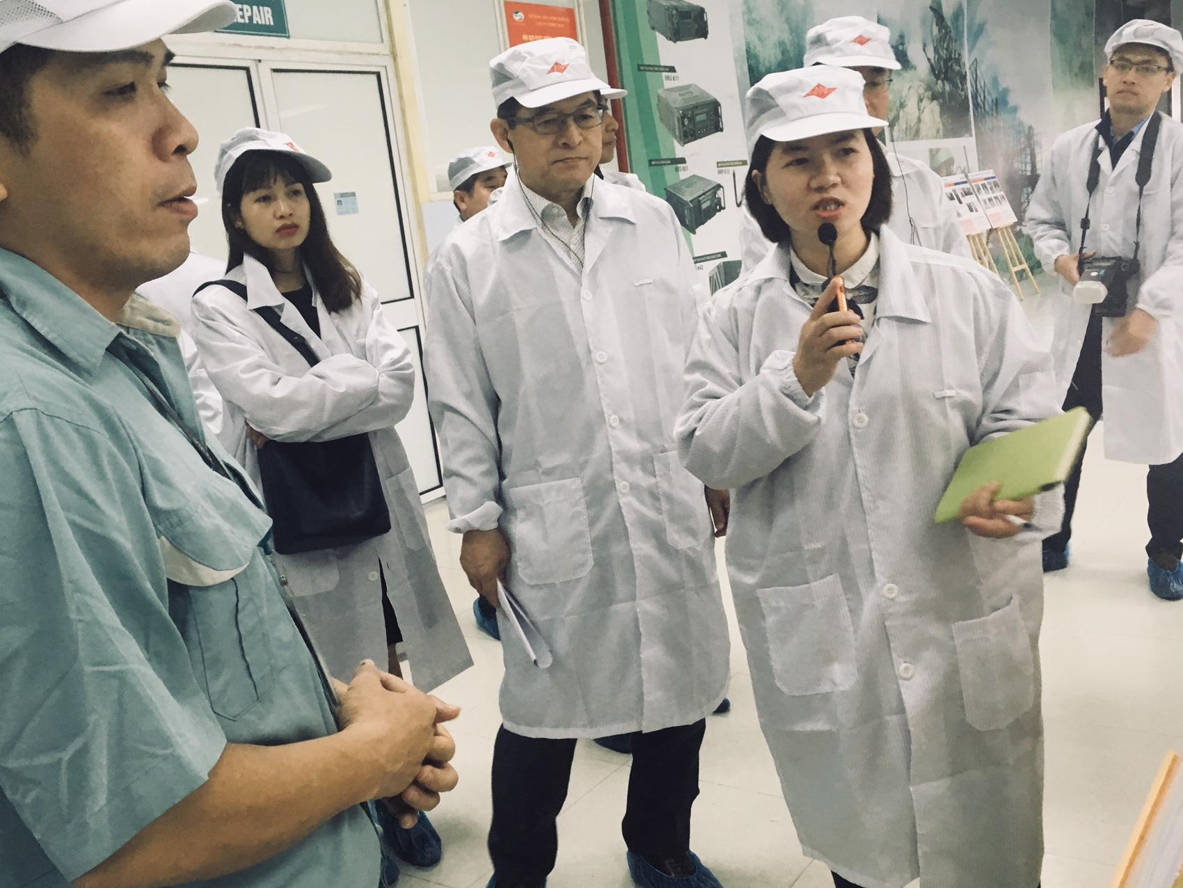 Samsung tăng cường năng lực cho các DN Việt Nam tham gia chuỗi cung ứng linh, phụ kiện
