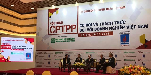 Doanh nghiệp sẽ được hưởng lợi nhiều nhất từ CPTPP