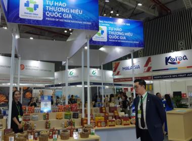 Sản phẩm mang Thương hiệu quốc gia của Tân Hiệp Phát tham gia triển lãm Vietnam Foodexpo 2019
