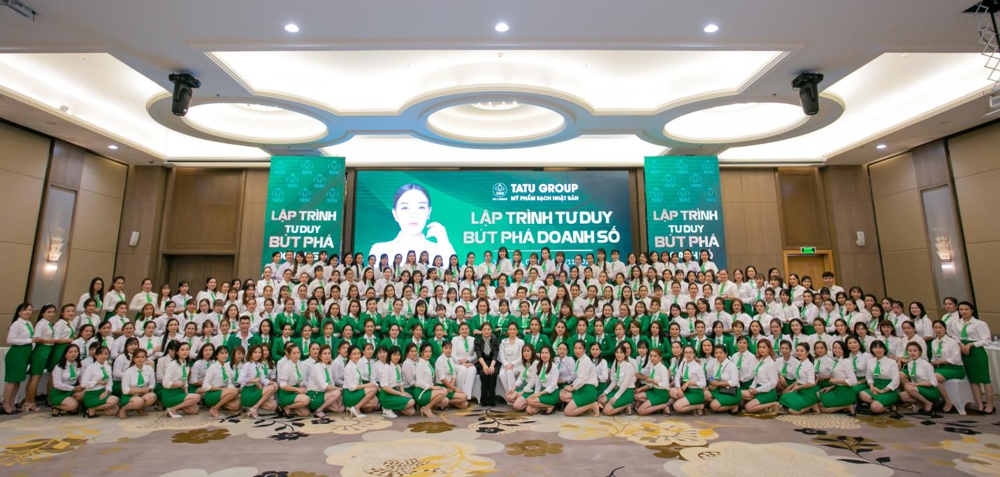 Lập trình tư duy - Bứt phá doanh số khác biệt tạo nên thành công của hệ thống Tatu Group