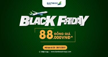 Bamboo Airways Black Friday với giá vé ưu đãi chỉ từ 88.000 VNĐ