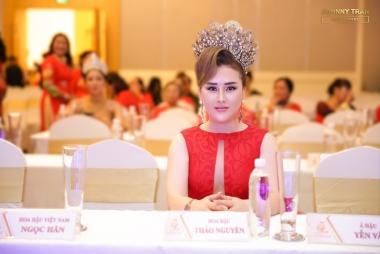Hoa hậu Hoàng Thị Thảo Nguyên làm giám khảo Hoa hậu Doanh nhân Việt Nam Toàn cầu 2020