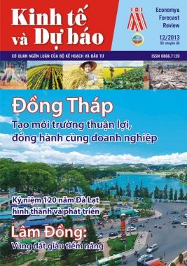 Giới thiệu Tạp chí Kinh tế và Dự báo số chuyên đề tháng 12/2013