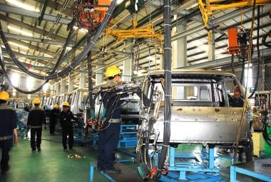 Chỉ số sản xuất công nghiệp năm 2014 tăng 7,6%