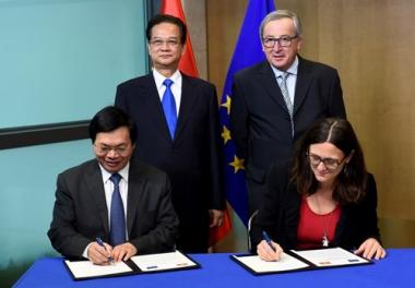 Chính thức ký kết Hiệp định Thương mại tự do Việt Nam - EU