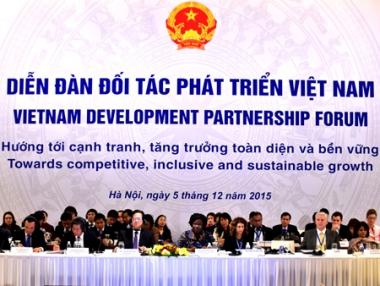 VDPF 2015: Việt Nam nhận thức rõ hạn chế, không chủ quan và quyết tâm vượt qua