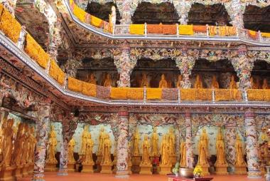 Chùa Linh Phước - Đà Lạt, một công trình kiến trúc độc đáo