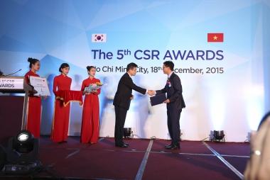 Lễ trao Giải thưởng Trách nhiệm Xã hội của Doanh nghiệp Hàn Quốc – Việt Nam