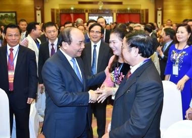 Thủ tướng đề nghị doanh nhân không tiếp tay cho tiêu cực, nhũng nhiễu