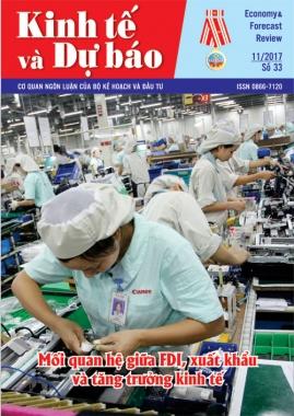 Giới thiệu Tạp chí Kinh tế và Dự báo số 33 (673)
