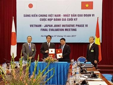 Đánh giá Sáng kiến chung Việt Nam – Nhật Bản giai đoạn VI