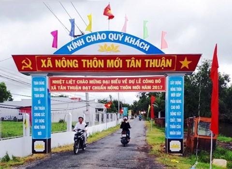 Năm 2020, Kiên Giang phấn đấu có 61 xã đạt chuẩn nông thôn mới