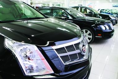 Sản lượng tiêu thụ ô tô giảm 10% so cùng kỳ 2016