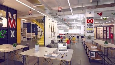 Văn phòng hỗn hợp và không gian làm việc chung đang ngày càng được ưu chuộng hơn