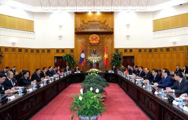 Chuẩn bị kỳ họp Ủy ban liên Chính phủ về hợp tác Việt Nam-Lào lần thứ 40