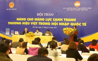 """Coi nhẹ phát triển thương hiệu, hàng hóa Việt """"loay hoay"""" tìm chỗ đứng!"""