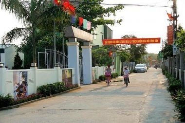 Nghi Xuân trở thành huyện nông thôn mới đầu tiên của tỉnh Hà Tĩnh