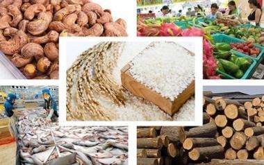 Kim ngạch xuất khẩu nông, lâm, thuỷ sản tháng 11/2019 đạt 3,93 tỷ USD
