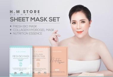 """Khám phá sự mới lạ trong sản phẩm """"Sheet Mask Set"""" của HM Store"""