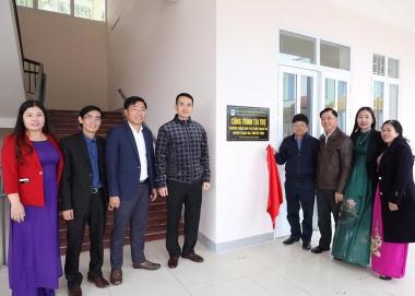 PV GAS tài trợ xây dựng 2 trường mầm non ở Nghệ An và Hà Tĩnh