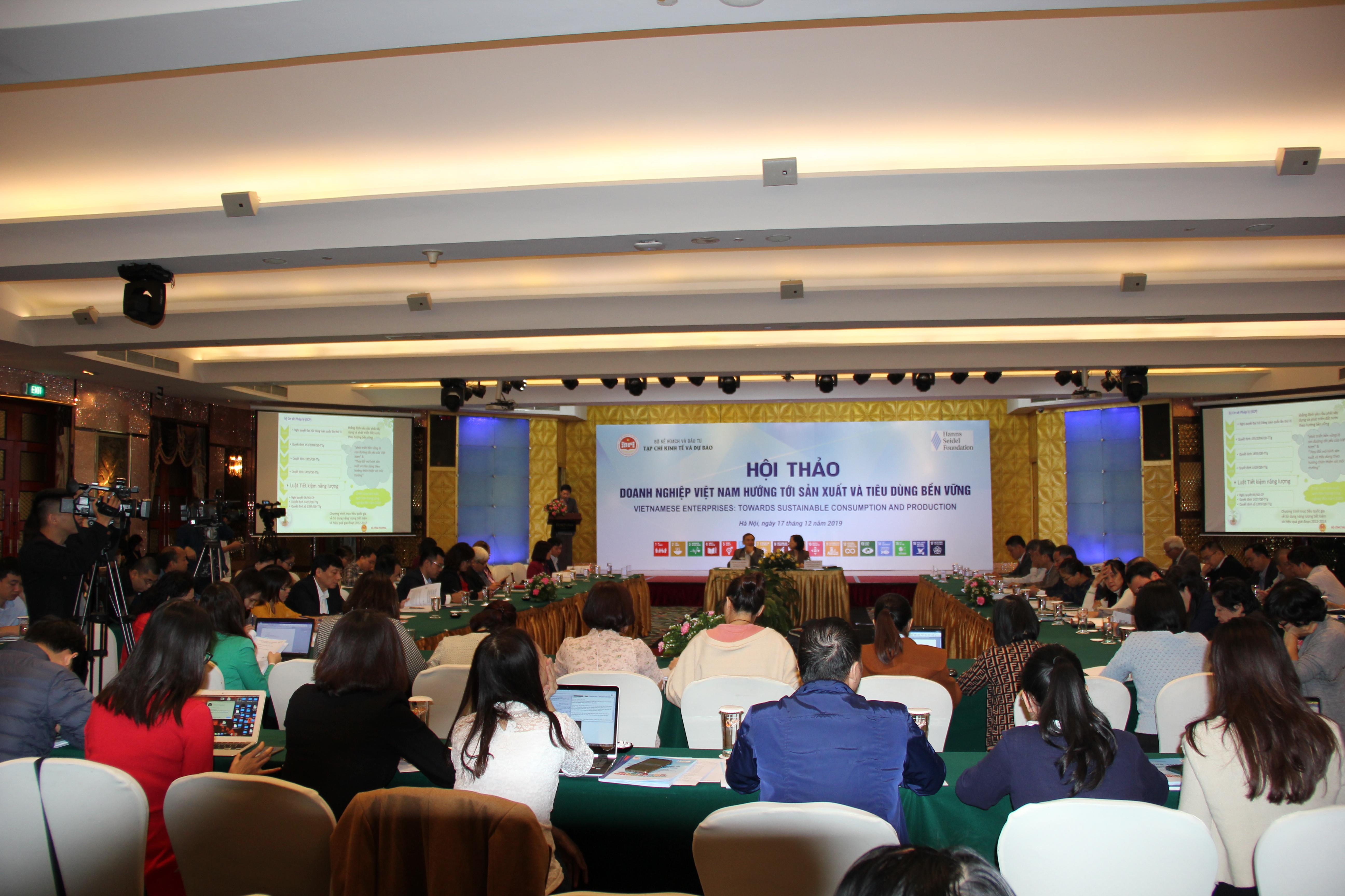 Sản xuất và tiêu dùng bền vững mang lại lợi ích kinh tế cho chính doanh nghiệp