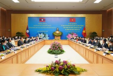 Kế hoạch hợp tác Việt Nam - Lào năm 2020 vượt nhiều mục tiêu đề ra