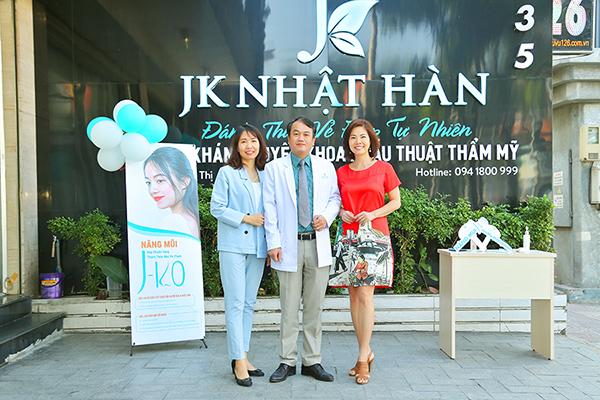 Viện thẩm mỹ JK Nhật Hàn ra mắt công nghệ độc quyền nâng mũi J–KO