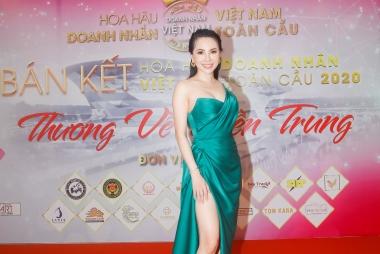Hoa hậu Châu Ngọc Bích chấm thi hoa hậu: Áp lực vì dàn thí sinh có tài sắc