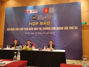 Việt Nam hoàn thành trọn vẹn vai trò Chủ tịch Diễn đàn thị trường vốn ASEAN 2020
