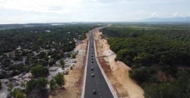 Mở tuyến đường ven biển, động lực phát triển kinh tế tỉnh Quảng Nam