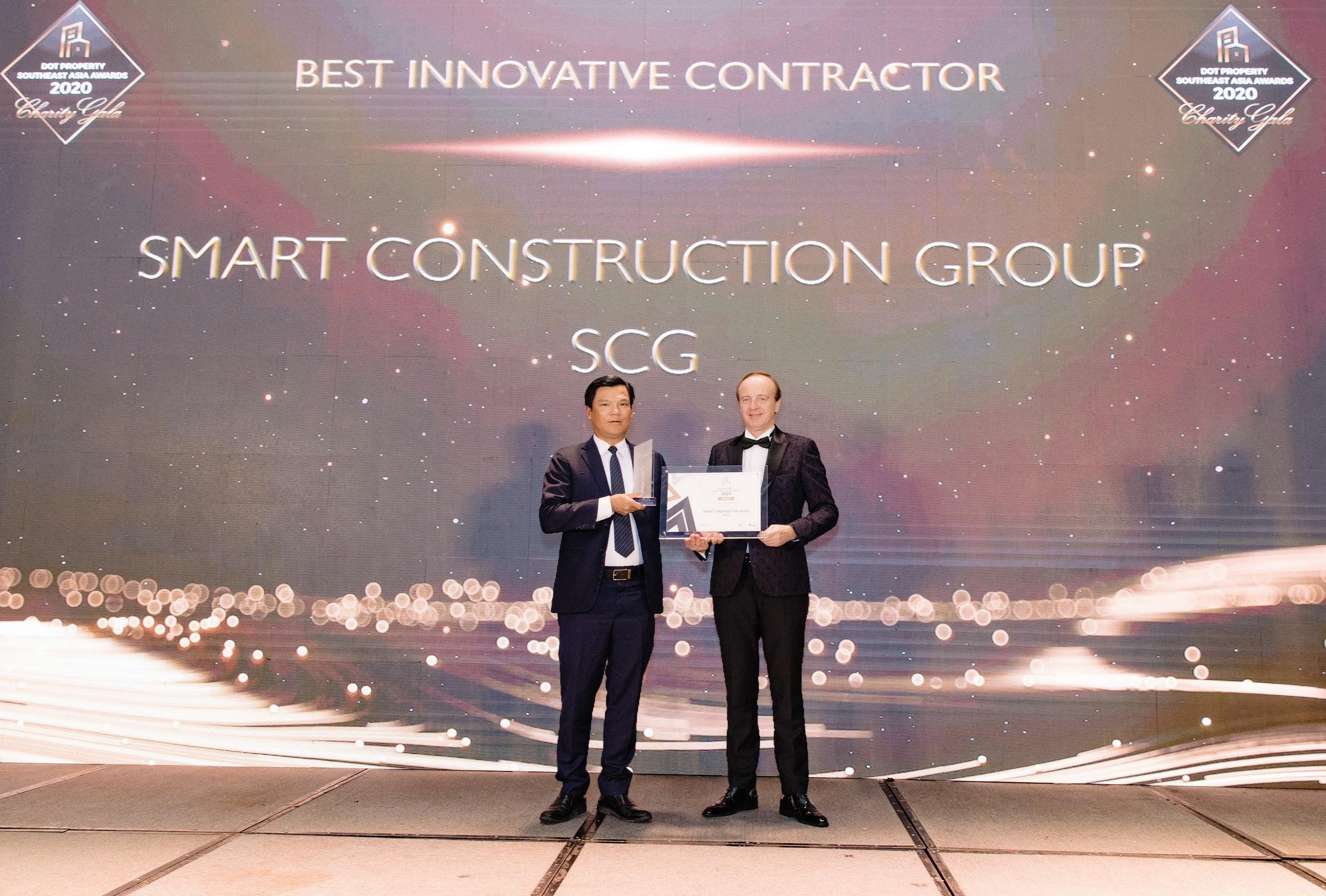 SCG là công ty xây dựng duy nhất của Việt Nam giành giải thưởng Nhà thầu xây dựng đột phá nhất Đông Nam Á 2020
