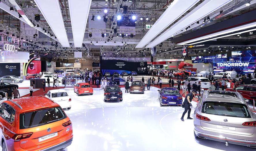 Tháng 11/2020, sản lượng tiêu thụ ô tô tăng tốc