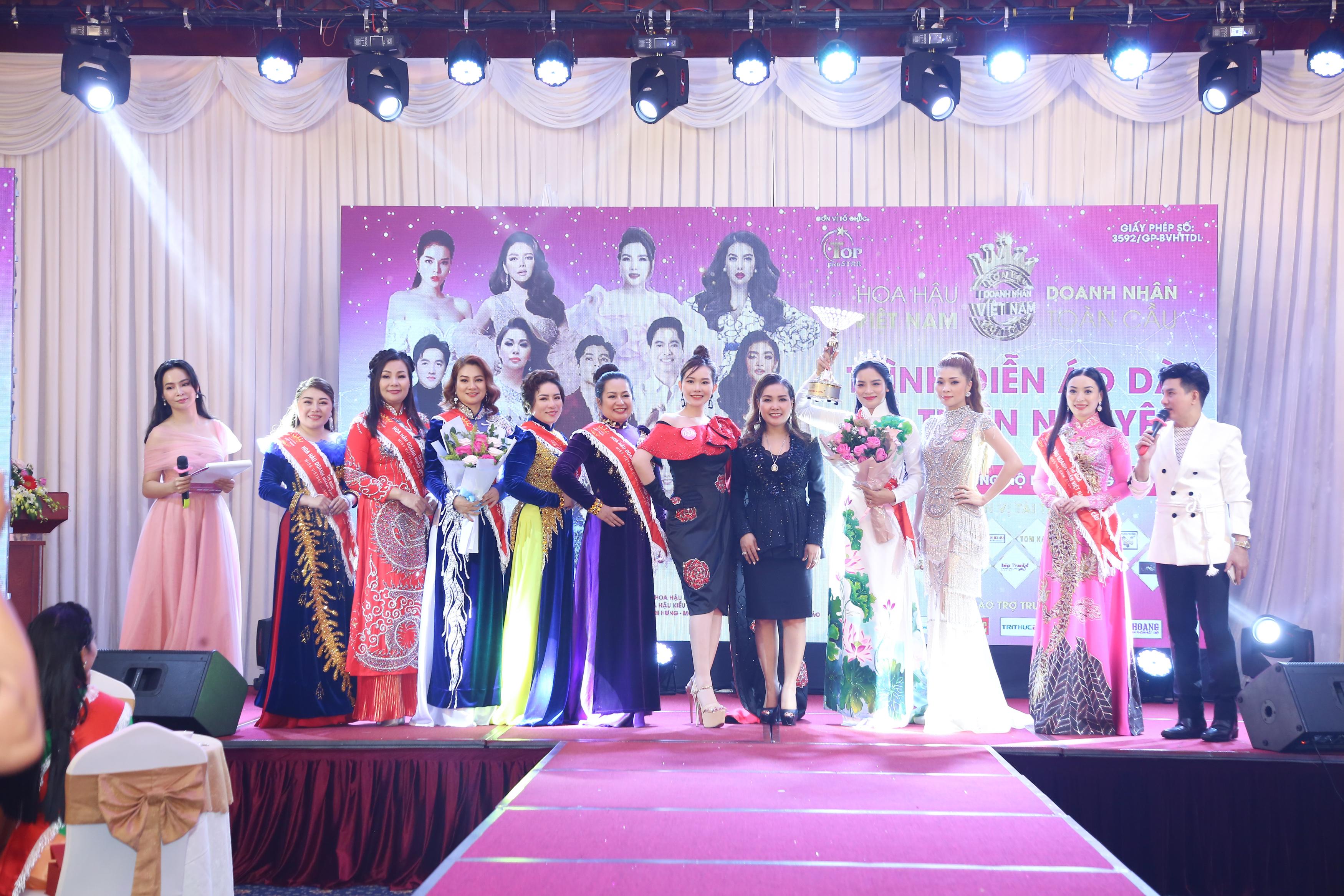Nhiều cảm xúc trong đêm đấu giá gây quỹ của Hoa hậu Doanh nhân Việt Nam Toàn cầu 2020