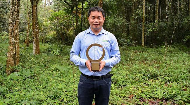 Nhà bảo tồn người Việt được trao giải 'Nobel Xanh'