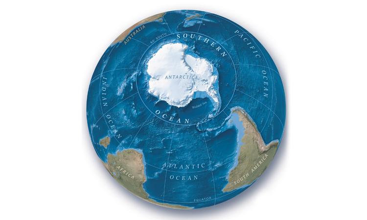 Trái đất có đại dương thứ 5