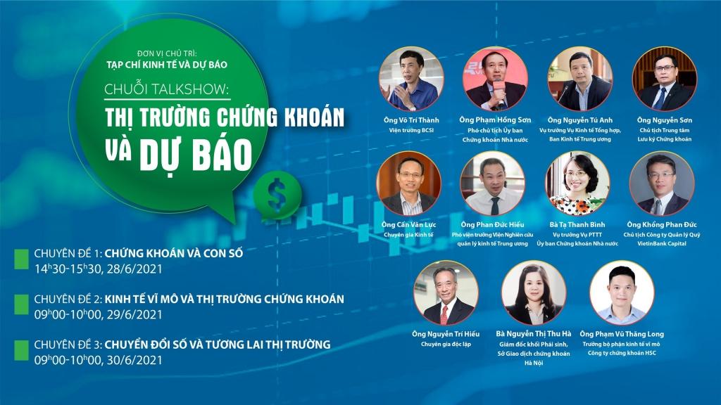 Tuần tới, 10 diễn giả hàng đầu sẽ cùng đánh giá, dự báo về tương lai TTCK Việt Nam