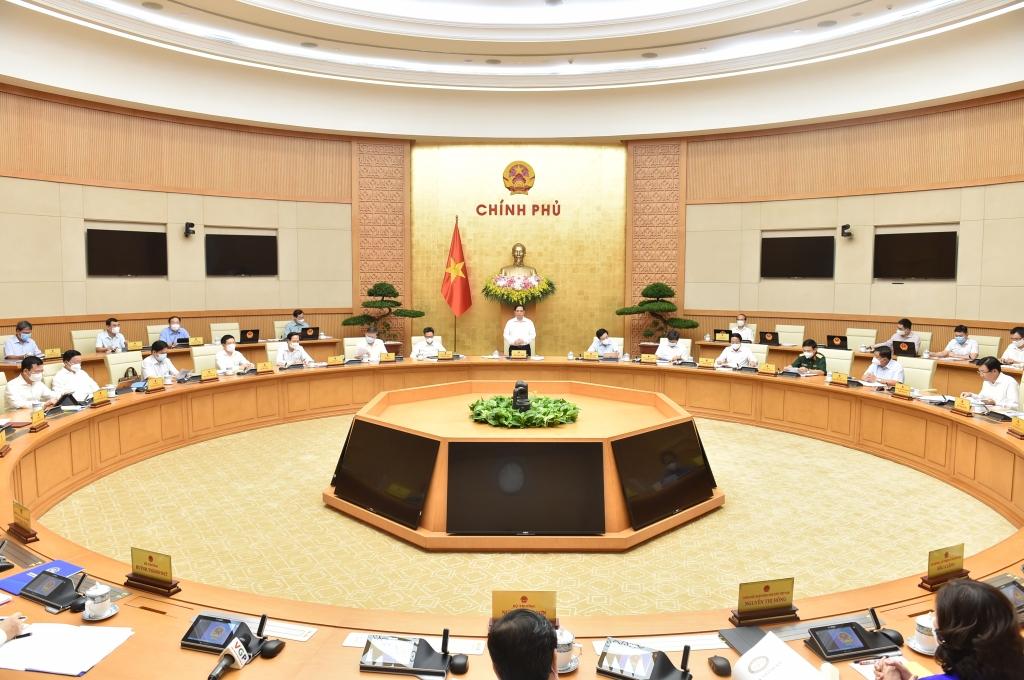 Chính phủ quyết nghị, chưa điều chỉnh mục tiêu, chỉ tiêu phát triển kinh tế - xã hội năm 2021