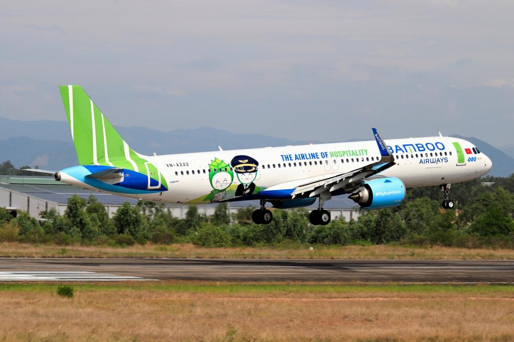 Bamboo Airways thực hiện bay thiện nguyện, đưa người dân Bình Định từ TP. HCM về quê