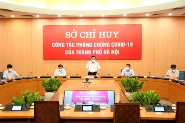 Hà Nội lập Sở chỉ huy phòng, chống dịch COVID-19