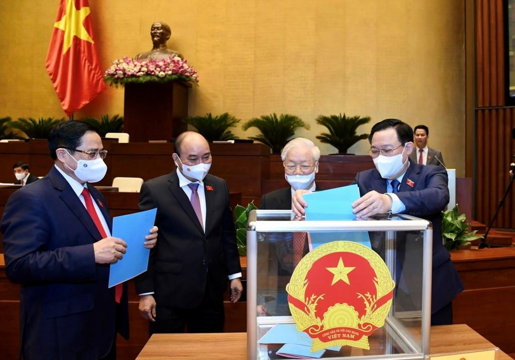 Quốc hội phê chuẩn bổ nhiệm các thành viên Chính phủ