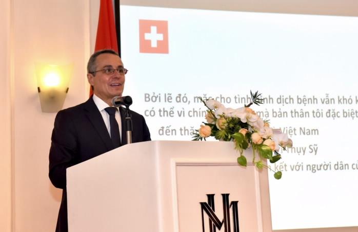 Hy vọng ngày càng có nhiều người Thụy Sỹ kết nối với Việt Nam