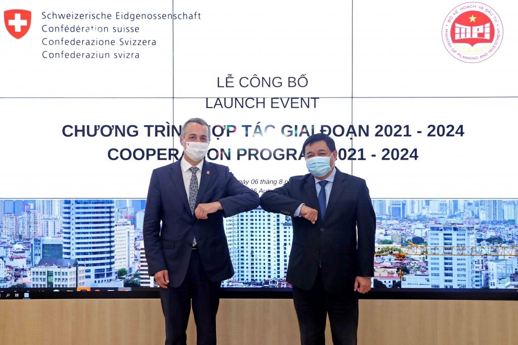 """Công bố """"Chương trình hợp tác Thụy Sỹ và Việt Nam giai đoạn 2021-2024"""""""
