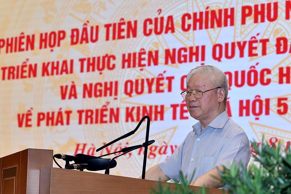 Tổng Bí thư Nguyễn Phú Trọng: Kỳ vọng và tin tưởng vào Chính phủ nhiệm kỳ 2021-2026