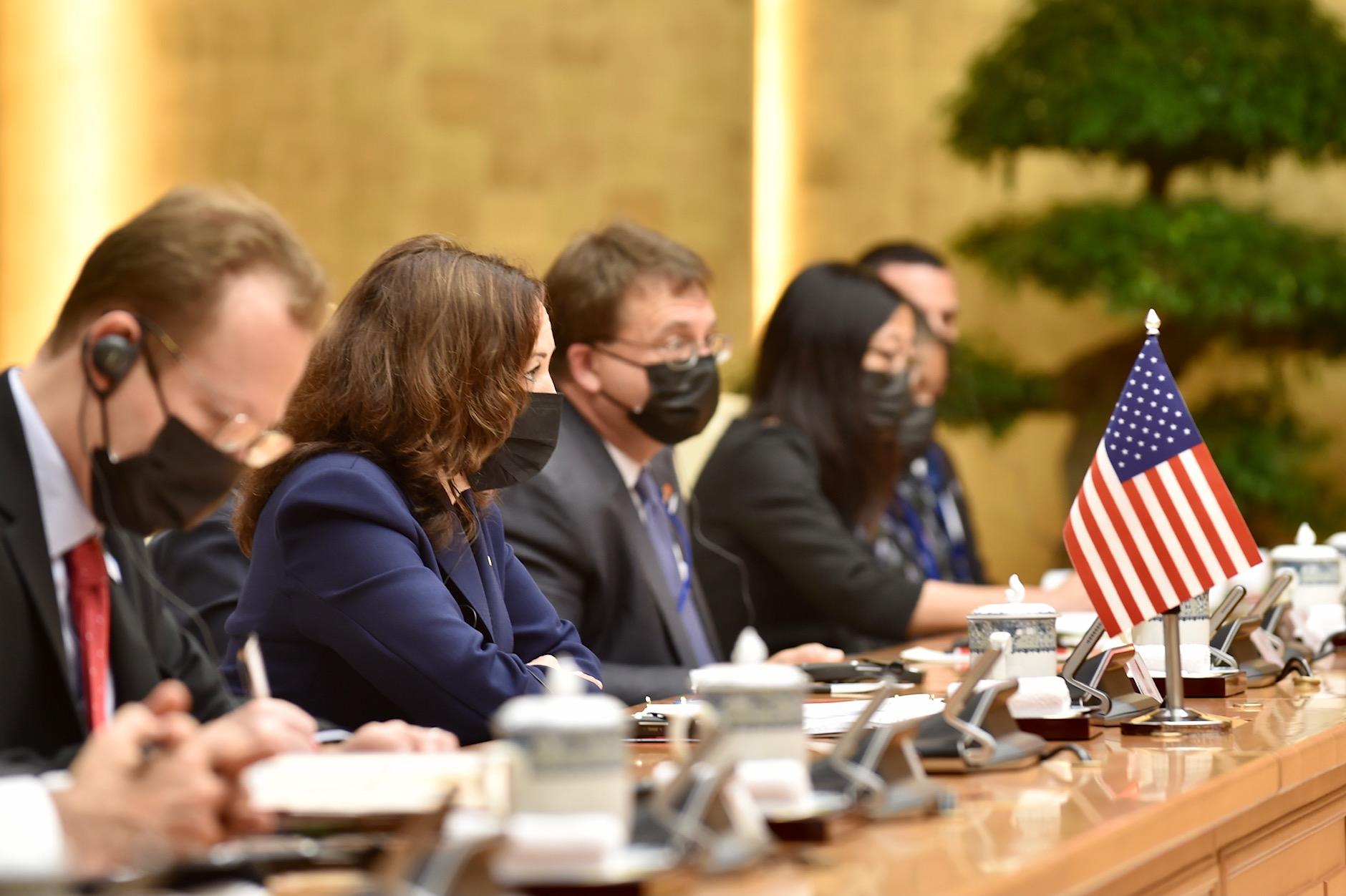 Thủ tướng Phạm Minh Chính tiếp Phó Tổng thống Hoa Kỳ Kamala Harris