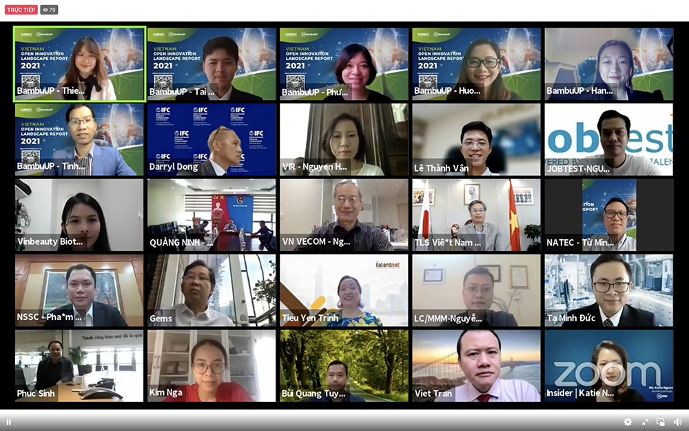 """Tháng 12 sẽ công bố Báo cáo """"Toàn cảnh đổi mới sáng tạo mở tại Việt Nam"""""""