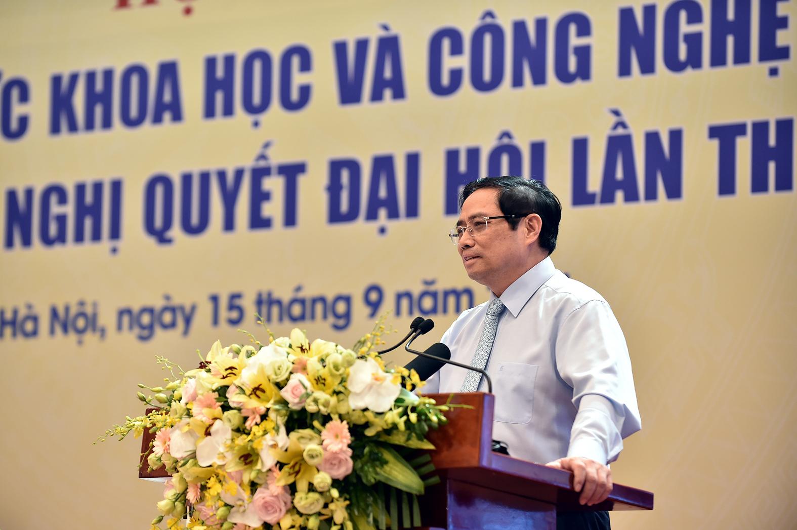Thủ tướng Phạm Minh Chính: Cần có nhận thức mới, tư duy khoa học mới cho phát triển Đất nước