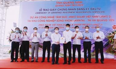 KCN Sông Khoai, Quảng Ninh đón dự án quy mô trên 365 triệu USD